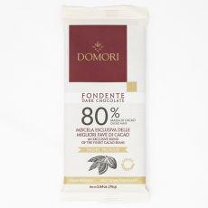 TEMNA ČOKOLADA 80% DOMORI - 75 g
