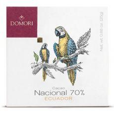 ARRIBA NACIONAL EKVADOR 70% DOMORI - 50 g